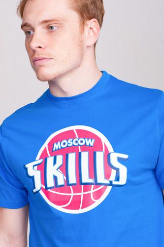 Футболка SKILLS Detroit (Strong Blue, 2XS)