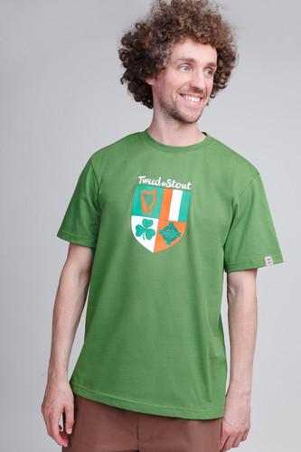 Футболка TWEED&STOUT Ирландия (Зеленый, L)