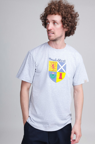 Футболка TWEED&STOUT Шотландия (Серый, M)