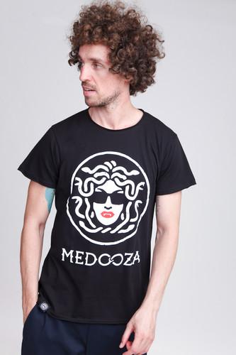 Футболка MEDOOZA Logo T-92M (Черный, XL) толстовка medooza back in black ii черный xl