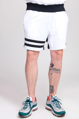 Шорты UNFAIR ATHLETICS DMWU Shorts White/Black фото