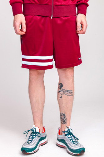 Шорты UNFAIR ATHLETICS DMWU Athletic Shorts (Burgundy, XL)