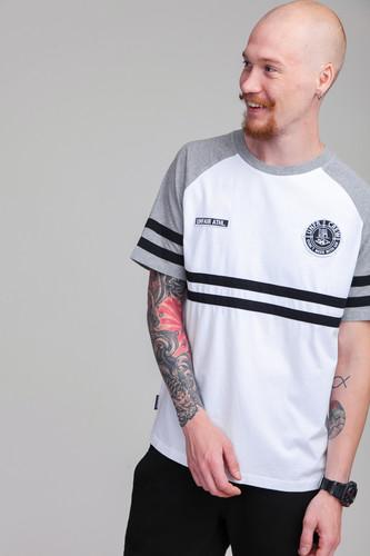 Футболка UNFAIR ATHLETICS DMWU T-Shirt (White/Grey, L)