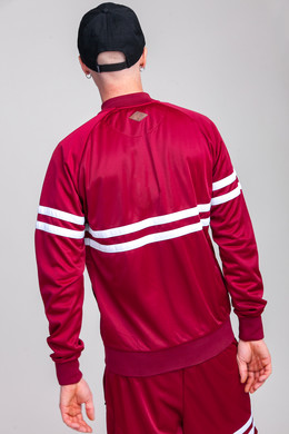 Олимпийка UNFAIR ATHLETICS DMWU Tracktop Burgundy фото 2