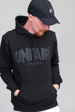 Толстовка UNFAIR ATHLETICS Classic Label Hoodie All Black фото
