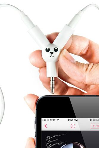 Разветвитель для наушников jack rabbit (Белый) разветвитель для наушников suck uk jack rabbit белый
