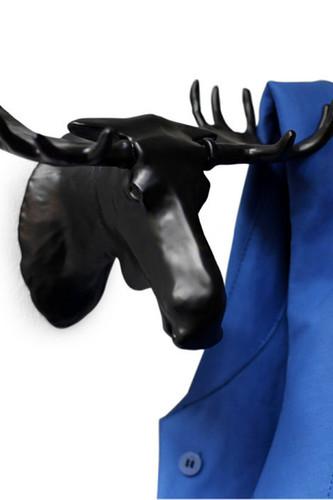 Вешалка moose черная (Черный)