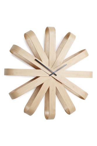 Часы настенные ribbon дерево (Коричневый) все цены