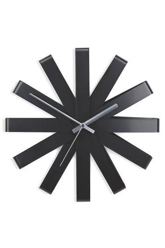 Часы настенные ribbon чёрныe (Черный)
