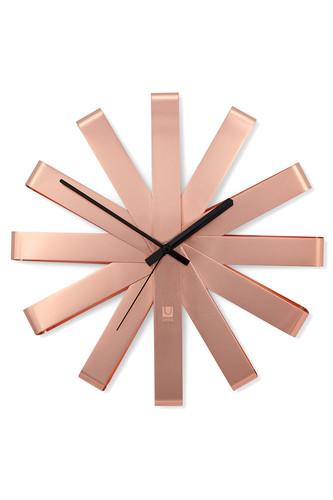 Часы настенные ribbon медь (Медный)