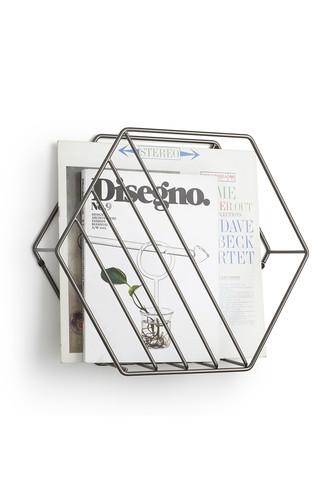 Подставка для газет и журналов zina титан (Серый)