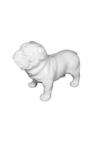 Копилка bull dog (Белый)
