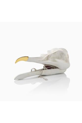 Шкатулка для украшений bird skull (белый) (Белый) разветвитель для наушников suck uk jack rabbit белый