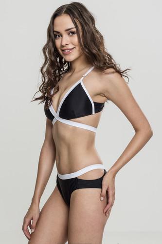 Купальник URBAN CLASSICS Ladies Contrast Bikini (Black/White, S)