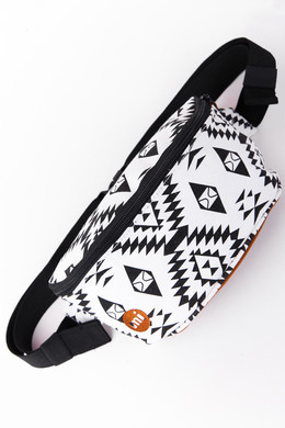 Сумка MI-PAC Bum Bag Native Black/White 742100-001 фото