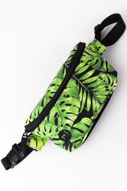 Сумка MI-PAC Bum Bag Tropical Leaf Black 742250-005 фото