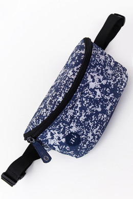 Сумка MI-PAC Bum Bag Denim Splatter Indigo/Silver 742250-003 фото