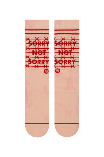 Носки STANCE SORRY NOT SORRY Pink фото 4
