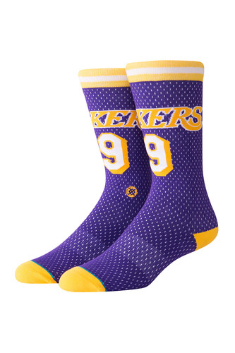 Носки STANCE NBA ARENA LAKERS 94 HWC (Purple, L) цена и фото