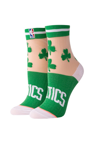 Носки STANCE NBA ARENA CELTICS ANKLET (Green, one size)