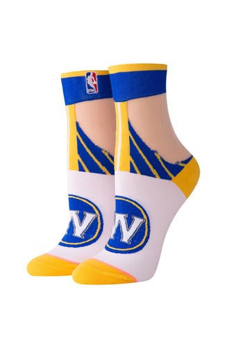 Носки STANCE NBA ARENA GOLDEN STATE ANKLET Yellow фото 2