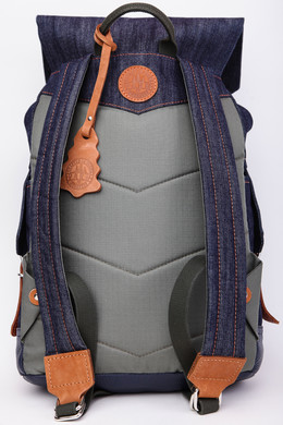 Рюкзак PARM Flip Backpack Джинс фото 2