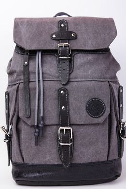 Рюкзак PARM Flip Backpack Серый фото