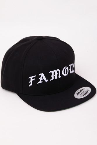 купить Бейсболка FAMOUS Famous Old Snapback (Black, O/S) онлайн