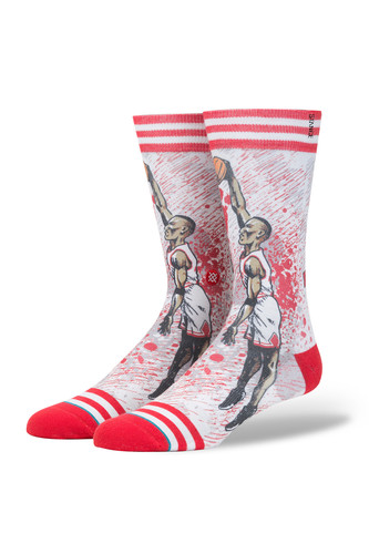 Носки STANCE TF PIPPEN (Red, )