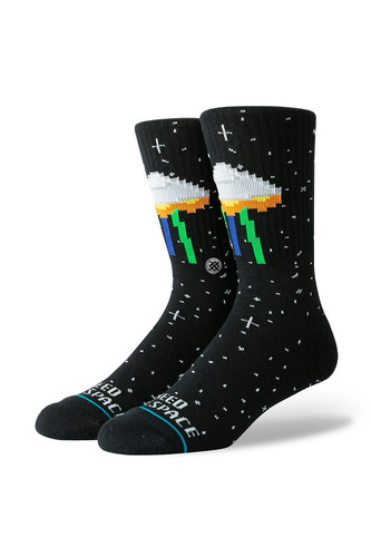 Носки STANCE I NEED SOME SPACE (Black, )