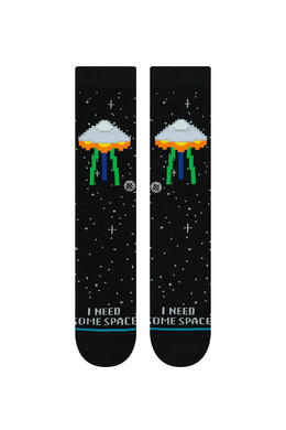 Носки STANCE I NEED SOME SPACE Black фото 2