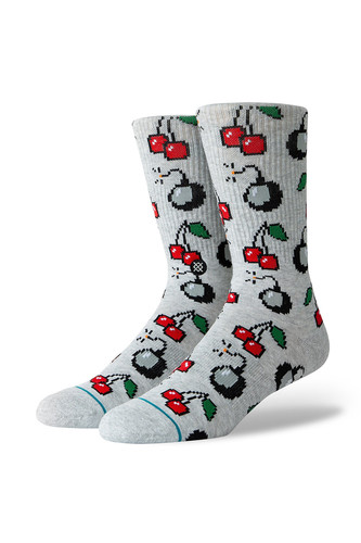 Носки STANCE CHERRI BOMB (Heather Grey, )