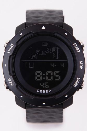 Часы СЕВЕР СЕВ856 (Черный) видеофильм европейский север