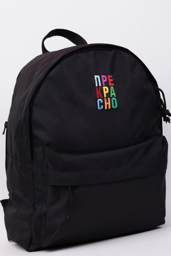 Рюкзак NICENONICE Прекрасно (Черный)