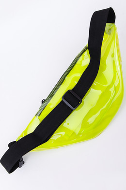 Сумка URBAN CLASSICS Transparent Shoulder Bag Transparent Yellow фото 2