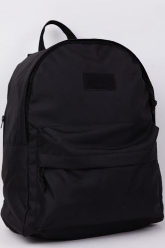 Рюкзак NICENONICE с патчем (Черный)
