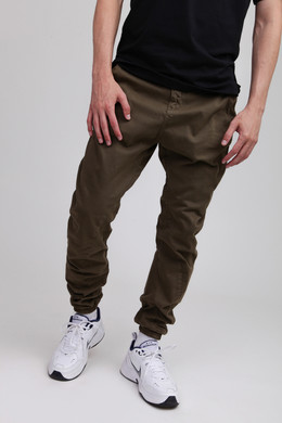 Брюки URBAN CLASSICS Stretch Jogging Pants Olive фото
