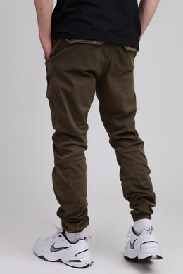 Брюки URBAN CLASSICS Stretch Jogging Pants Olive фото 2