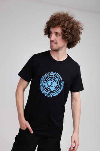 Футболка OVERDOSE FlatEarth (Black, 2XL)