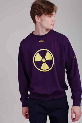 Толстовка WATAGA Radiation WSV-005 (Фиолетовый, L)