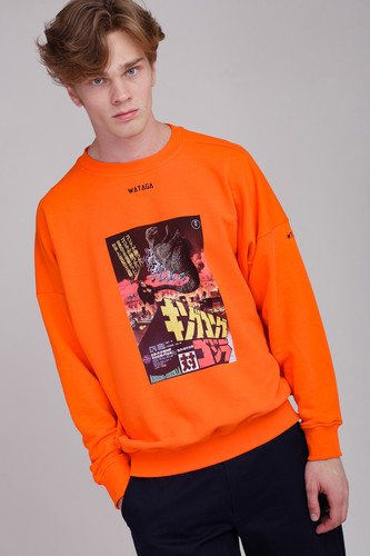 Толстовка WATAGA Godzi WSO-001 (Оранжевый, L)