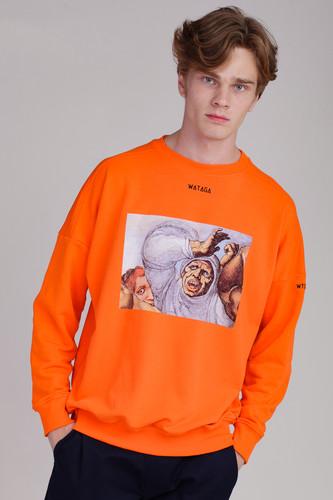 Толстовка WATAGA Mike WSO-003 (Оранжевый, S)