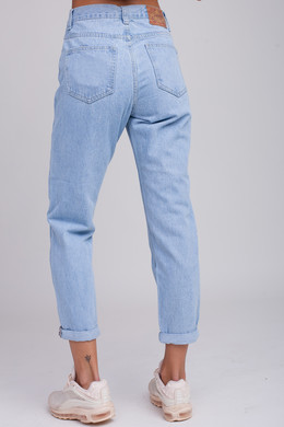 Джинсы ЗАПОРОЖЕЦ Ladie's Denim Zap Boyfriend Light Blue фото 2