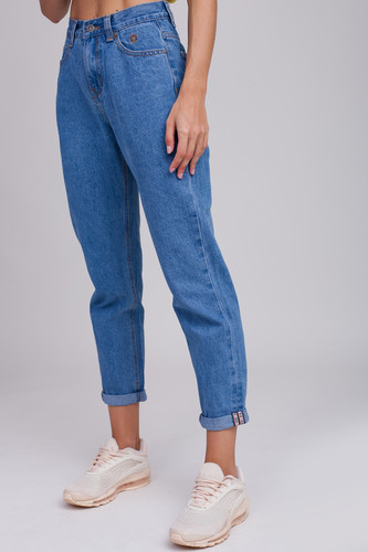 Джинсы ЗАПОРОЖЕЦ Ladies Denim Zap Boyfriend (Regular Blue, 29)