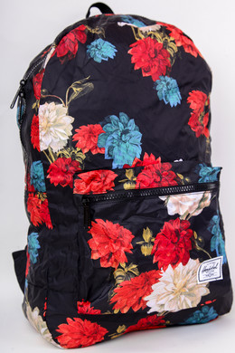 Рюкзак HERSCHEL Packable Daypack 10614 Vintage Floral Black фото