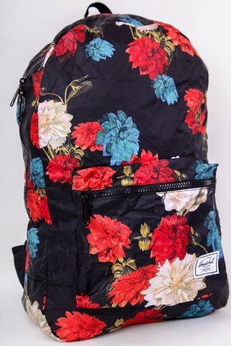 Рюкзак HERSCHEL Packable Daypack 10614 (Vintage Floral Black)