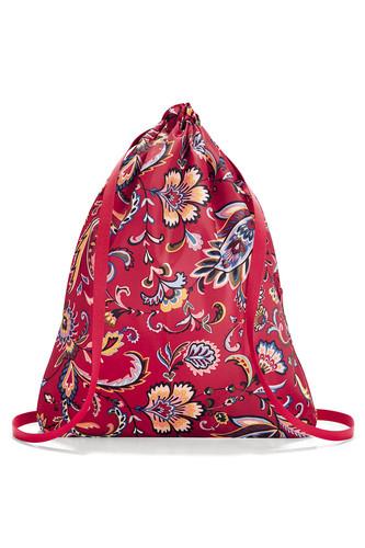 Рюкзак складной mini maxi sacpack (paisley ruby)
