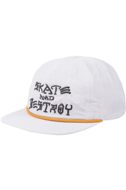 Кепка THRASHER SNAPBACK - S&D PUFF INK White фото