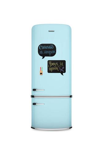 Магнитная доска на холодильник Chat мини (Черный) цена