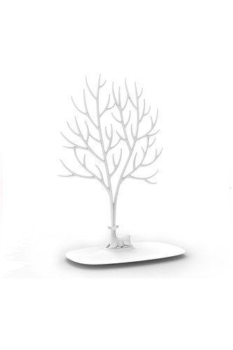 Декоративный органайзер для украшений deer большой белый (Белый) органайзер для мелочей qualy caccessories 20 21 10 см белый с зеленым